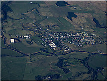 NS7709 : Sanquhar from the air by Thomas Nugent