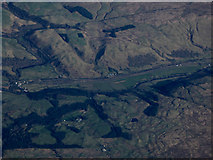 NS8006 : The Nith Valley from the air by Thomas Nugent