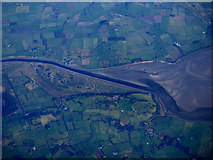 NX9766 : The River Nith from the air by Thomas Nugent