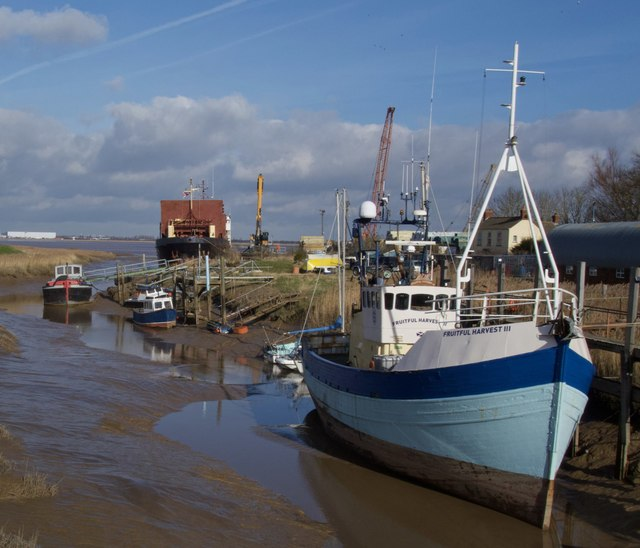 Boats at Barrow Haven