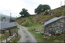 SH6130 : Road at Gerddi Bluog by DS Pugh