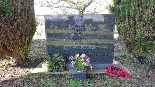 448th Bomb Group war memorial