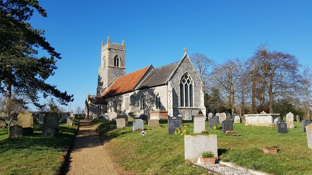 St Peter's church, Mundham
