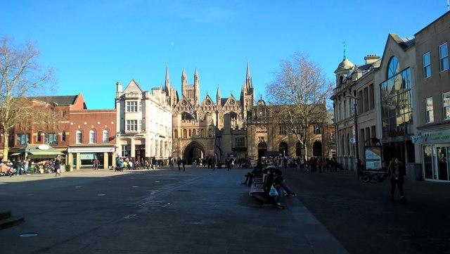 Cathedral Square, Peterborough
