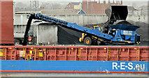 J3576 : Conveyor, Belfast harbour (February 2019) by Albert Bridge
