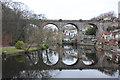 SE3457 : Knaresborough Viaduct by Richard Croft