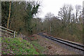 SO7483 : Railway and Country Park near Highley in Shropshire by Roger  Kidd