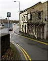 SM9515 : Scaffolding on derelict premises, Prospect Place, Haverfordwest by Jaggery
