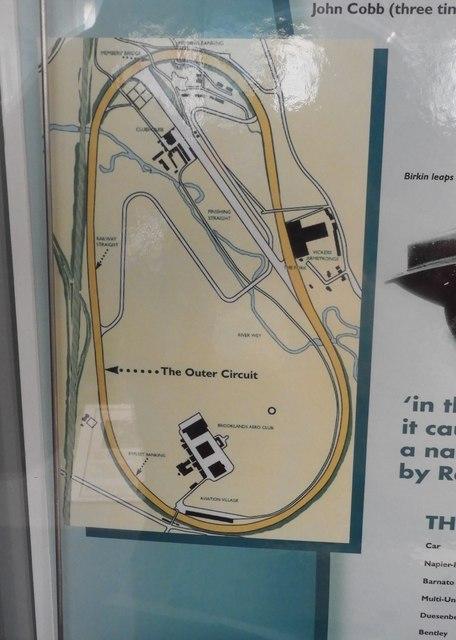 Track circuit plan, Brooklands
