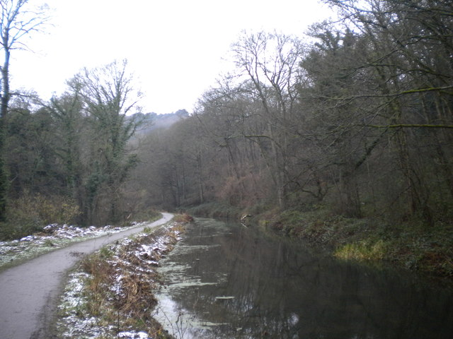 Cromford Canal west of Gregory Tunnel