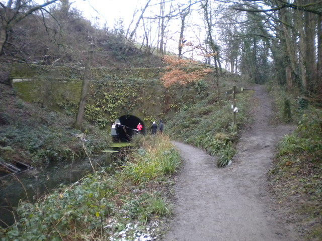Western approach to Gregory Tunnel, Cromford Canal