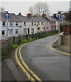 SM9516 : One-way signs, Park Road, Haverfordwest by Jaggery