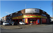 TA0828 : Tyre fitters on Anlaby Road, Hull by JThomas