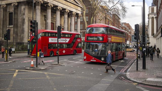Buses, London