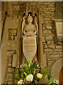 SE0426 : St Mary the Blessed Virgin, Luddenden - Appleyard memorial by Stephen Craven