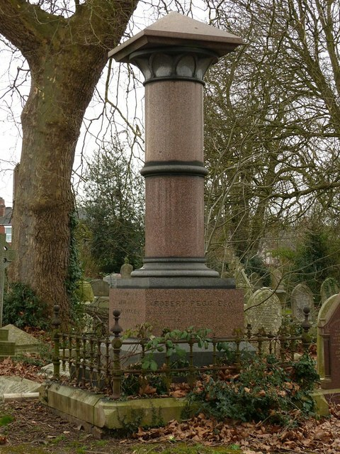 Derby Old Cemetery, Pegg Monument
