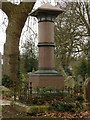 SK3435 : Derby Old Cemetery, Pegg Monument by Alan Murray-Rust
