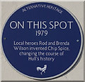 TA1029 : Alternative Heritage Blue Plaque by Ian S