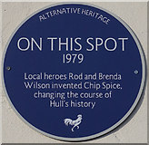 TA1029 : Alternative Heritage Blue Plaque by Ian S