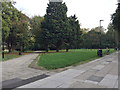 TQ3480 : Wapping Woods open space, Shadwell by Robin Stott