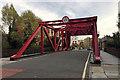 TQ3580 : Former rolling bridge, Garnet Street, Shadwell by Robin Stott