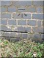 ST6149 : Binegar benchmark on the bridge by Neil Owen