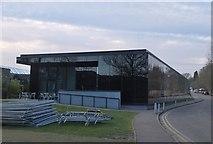 TL4359 : Music Centre, Churchill College Cambridge by Jim Barton