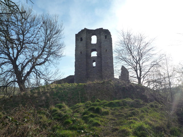 Clun Castle (Keep)