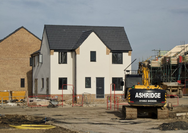 Housing development, Kingswood, Hull