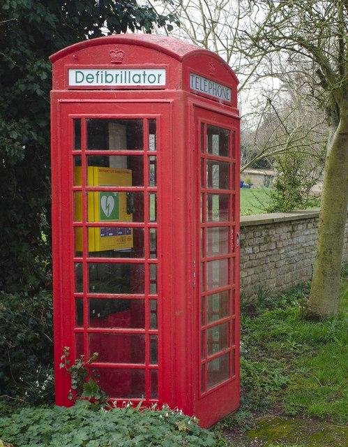 Phone box no longer