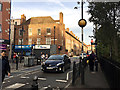 TQ3480 : Junction of Cable Street and Watney Street, Shadwell by Robin Stott
