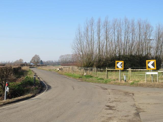 Gore Green Road, near Higham