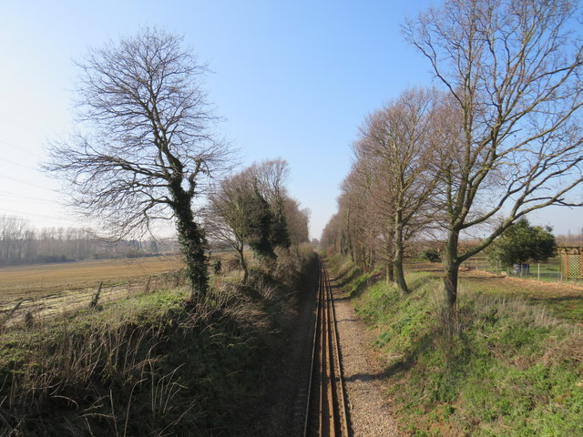 Railway line near Cliffe
