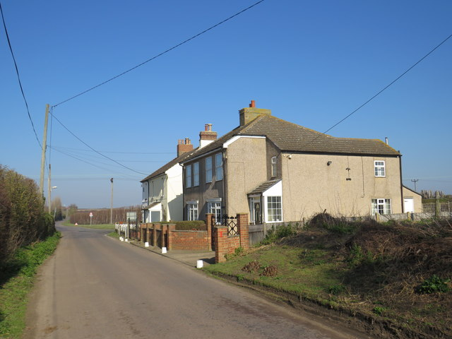 Houses on Buckland Road, near Cliffe