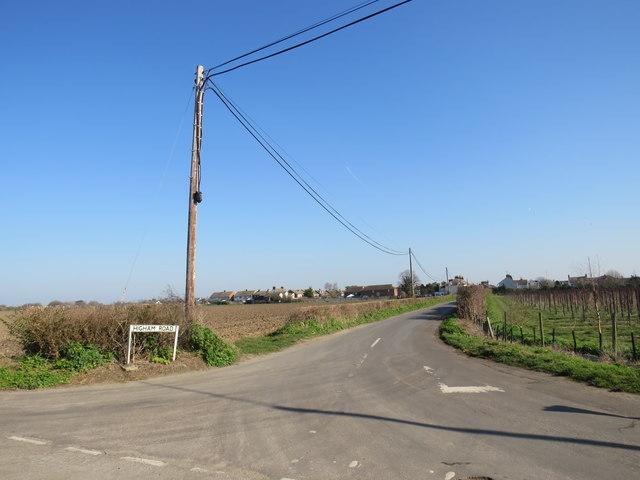 Higham Road, near Cliffe