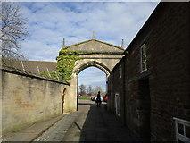 SK8608 : Gateway to Oakham Castle by Jonathan Thacker