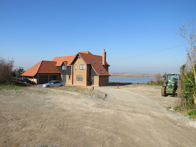 A house with a view, near Cliffe