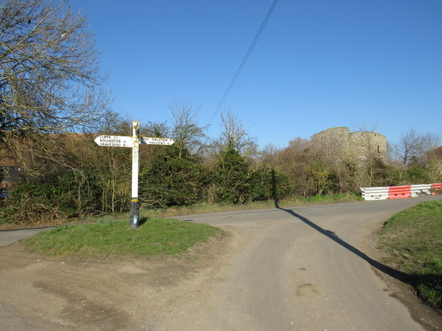 Road junction at Cooling