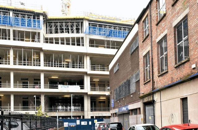 The Ulster University site, Belfast  - February 2019(8)