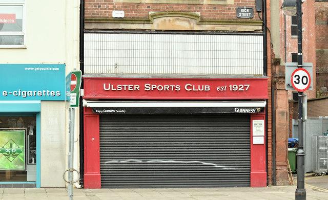 Former Ulster Sports Club, Belfast - February 2019(2)