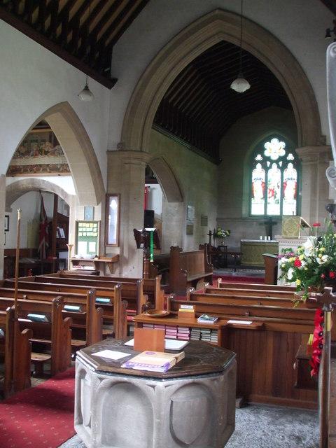 Holy Trinity's interior