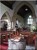 ST6149 : Holy Trinity's interior by Neil Owen