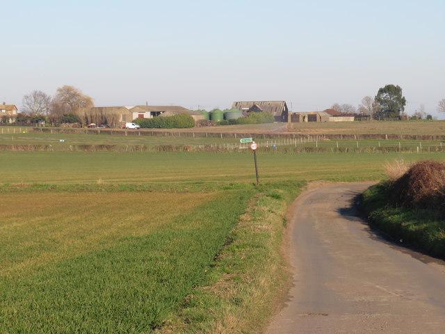 New Hall Farm Lane, near Allhallows