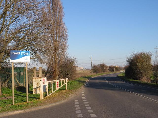 Grain Road, Lower Stoke
