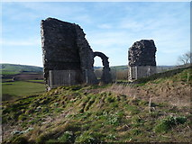 SO2980 : Clun Castle (Wall #2) by Fabian Musto