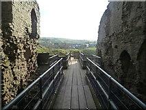 SO2980 : Inside Clun Castle (Keep) by Fabian Musto