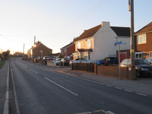 Main Road, Broad Street, near Hoo St Werburgh