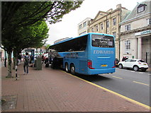 SS7597 : Edwards coach, Windsor Road, Neath by Jaggery