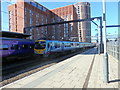 SE2933 : Transpennine Express Train leaving Leeds Station by Stephen Armstrong