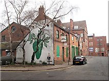 SP0786 : Allison Street, Birmingham 5 by David Hallam-Jones